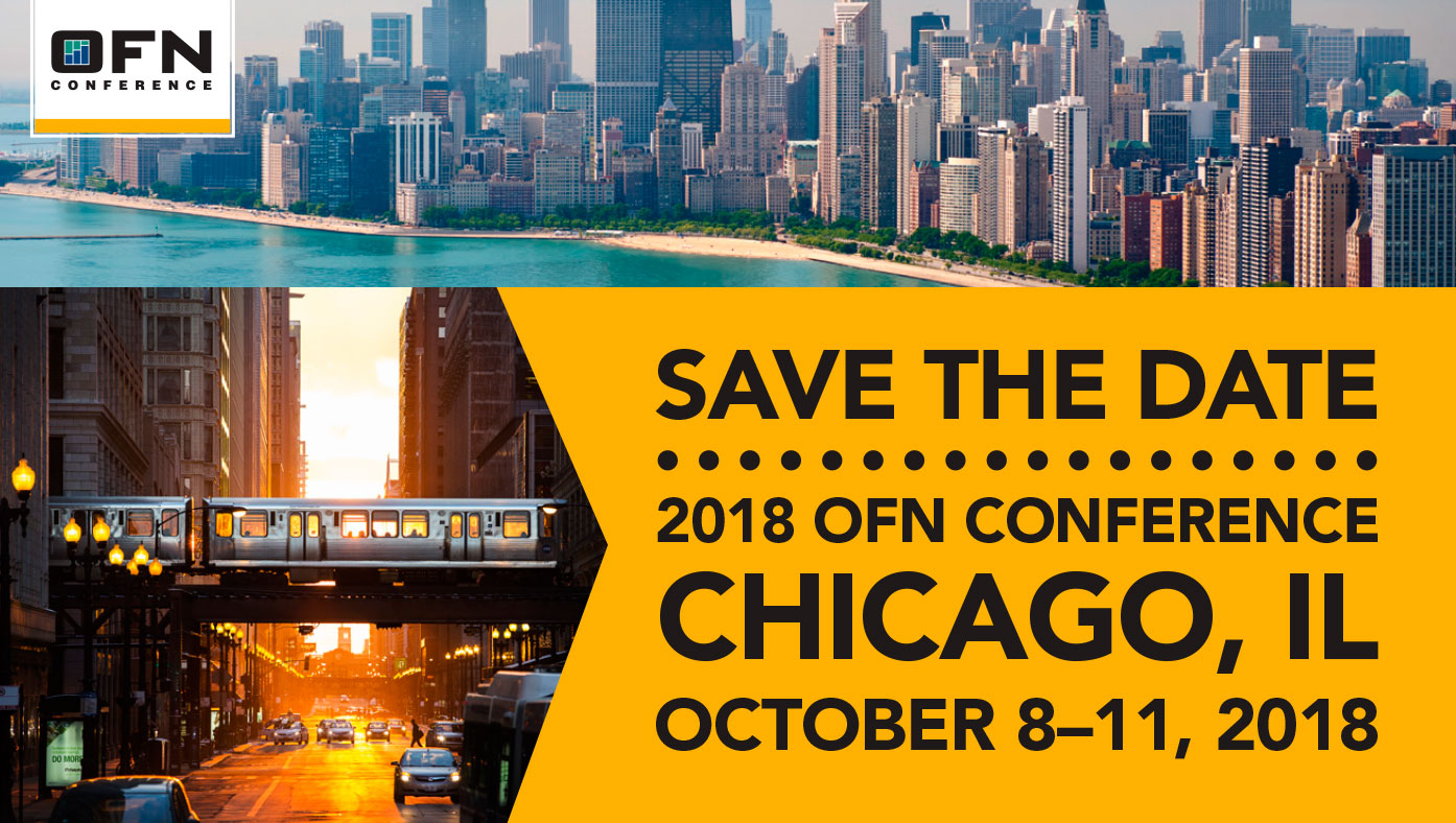 Save the Date 2018—Chicago, IL